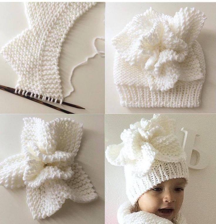 Örgü Bebek Şapkası Yapılışı