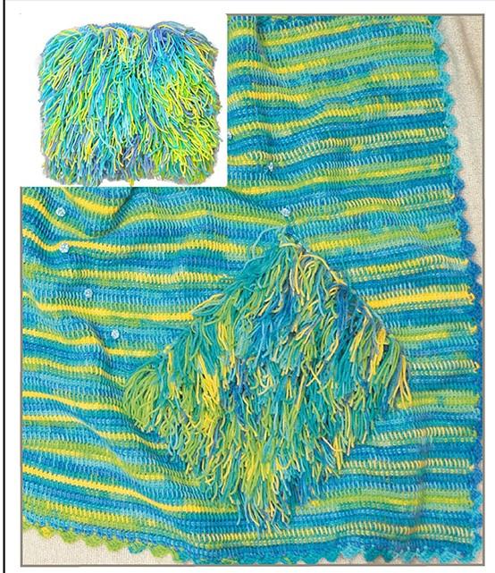 Alize Tülin İriş Bebek Battaniyesi Modelleri