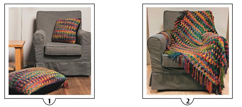 Alize Tülin İriş Örgüleri Ev dekorasyon yastık ve battaniye örülüşü anlatımı