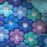 Tığ İşi Çiçekli Bebek Battaniyesi Yapılışı
