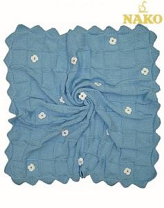 örgü battaniye nako modeli