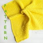 Hanım dilendi Bey Beğendi Bebek Battaniyesi Modeli Yapılışı Anlatımlı