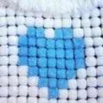 Bebek battaniyesi modeli yapılışı, Ponpon battaniye