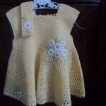 Karpuz Kollu Bebek Elbise Örülüşü
