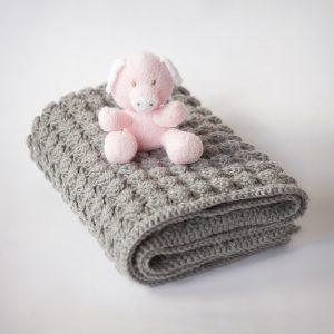 bebek battaniyesi nasıl örülür 4