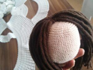 Amigurumi Bebekte Saç Yapımı : Amigurumi niloya bebek yapılışı açıklamalı u elisiorgudukkani