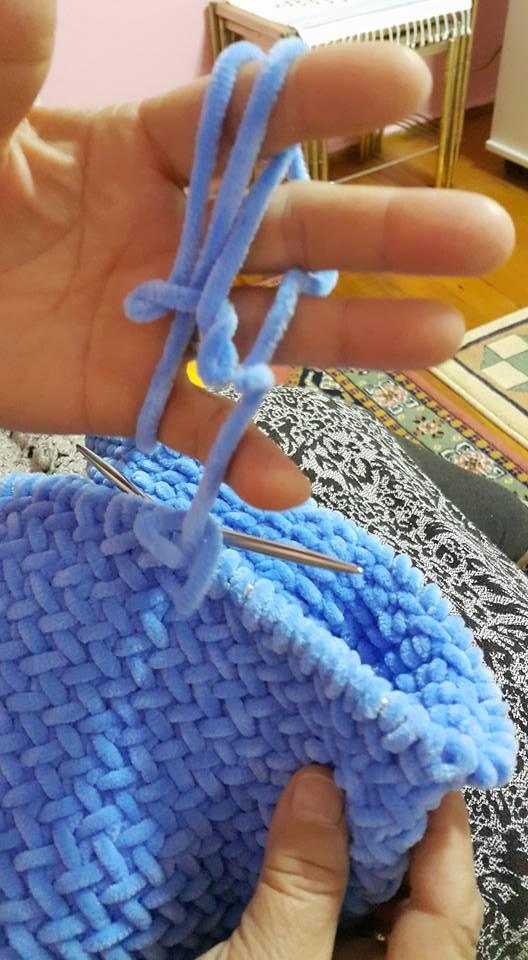 Balık Sırtı Bebek Battaniyesi Yapılışı