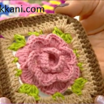 How to make crochet rose pattern ? free