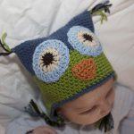 Bebek Şapkası Tığ İşi Baykuş Modeli