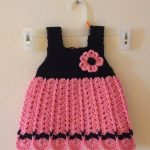 Easy crochet Baby Dress Free Pattern