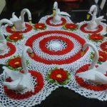 Mutfak Dekorasyonu Örgü Ürünler Modeller