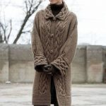 Uzun Boy Bayan Örgü Hırka Modelleri yeni-2017