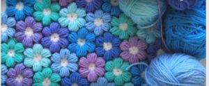 Çiçekli Bebek Battaniyesi Yapılışı