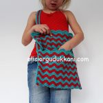 How to make crochet ripple bags?