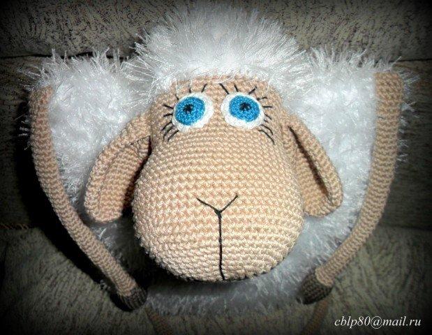 Örgü Koyun Oyuncak Yastık Yapımı - Örgü Modelleri   480x619
