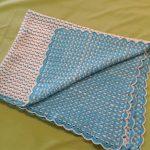 Çift taraflı Bebek Battaniyesi Yapılışı Tığ işi