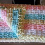 Fıstıklı Bebek Battaniyesi Yapılışı