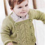 Erkek Bebek Örgü Hırka Yapılışı Anlatımı