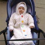 Örgü Bebek Uyku Tulumu Nasıl Örülür Anlatımlı