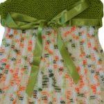 Robadan Başlama Örgü Bebek Elbisesi Yapılışı