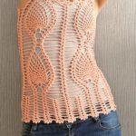 Ananas Örgü Modeli Yazlık Bluz Yapılışı