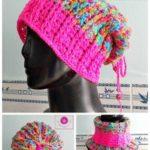 Nervürlü Şapka Yapılışı