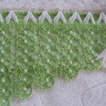 Boncuklu havlu kenarı yapılışı resimli anlatımlı