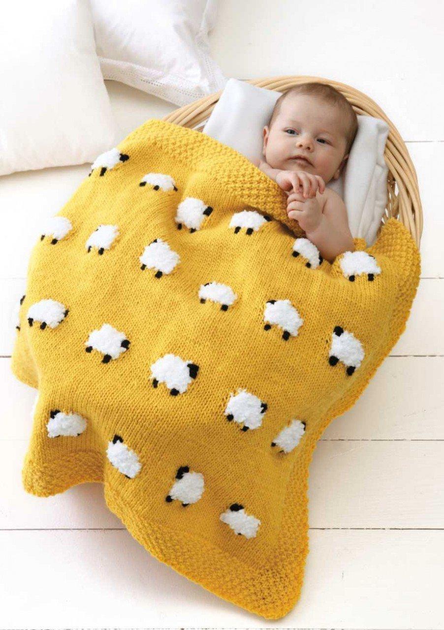 Kuzulu Bebek Battaniyesi Yapılışı