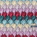 Tığ işi Kolay Kutulu Battaniye Modeli ve yapılışı