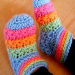 Yıldız Örgü Bebek Çorabı Nasıl Yapılır?