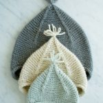 Garter Ear Flap Hat Pattern