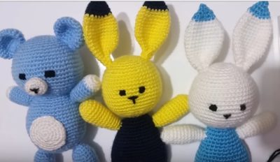 Amigurumi Oyuncak Tavşan Yapılışı Videolu Anlatımı