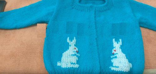 Bebek Örgülerinde Tavşan Deseni Nasıl Örülür?