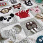 Hayvanat Bahçesi Konulu Bebek Battaniyesi Yapılışı