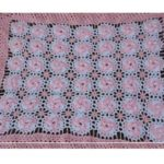 İç İçe Geçmiş Çark Motifi Çiçekli Yazlık Bebek Battaniyesi Yapılışı