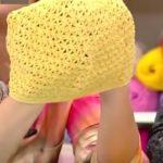 Yazlık Tığ işi Çocuk Bere - Şapka Yapılışı