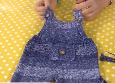 4 Mevsim Örgü Bebek Tulumu Yapılışı