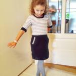 4 Mevsim Tığ işi Uzun Kollu Kız Çocuk Elbisesi Yapılışı