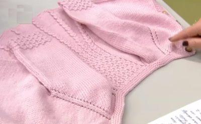 4 mevsim Bebek Ceketi Yapılışı