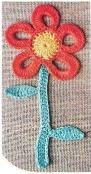 Çiçek Kitap Ayracı Yapımı