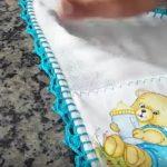 Bebek Mendili Kenarı Nasıl Örülür?