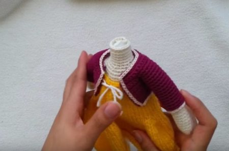 Amigurumi Doll Gülcan Free Crochet Pattern - Crochet.msa.plus | 297x450