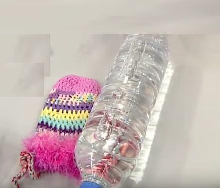 Su şişesi Pet Şişe Kılıfı Nasıl Örülür?