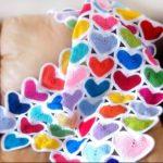 Tığ işi Kalp Battaniye Yapılışı
