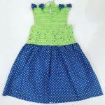 Kumaşlı Kız Çocuk Elbisesi Yapılışı