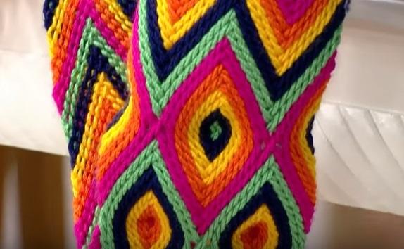 Wayuu Çanta Sapı Nasıl Yapılır videolu Anlatımlı