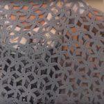 Tığ işi Yıldız Çiçeği Panço Modeli Yapılışı