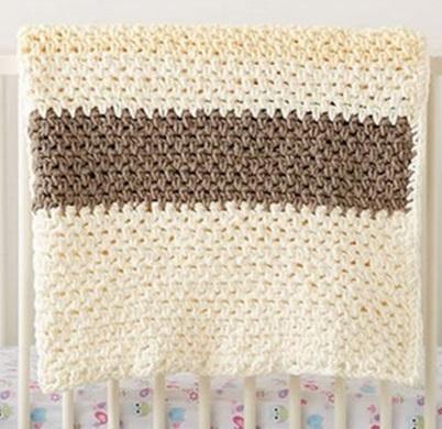 Kışlık Bebek Battaniyesi Tığ ile Nasıl Örülür?