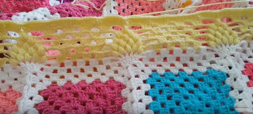 Kolay Bebek Battaniyesi Yapımı Hanım Dilendi Modeli videolu Anlatımlı