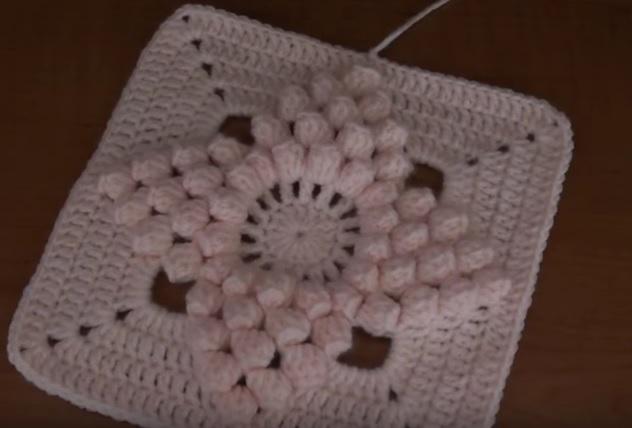 Popcorn Yıldız Modeli Yatak Örtüsü Battaniye Yapımı Anlatımlı